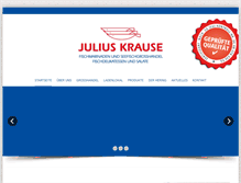 Tablet Preview of julius-krause.de
